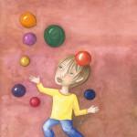 Kinderbuch Aquarell von Ulli Modro