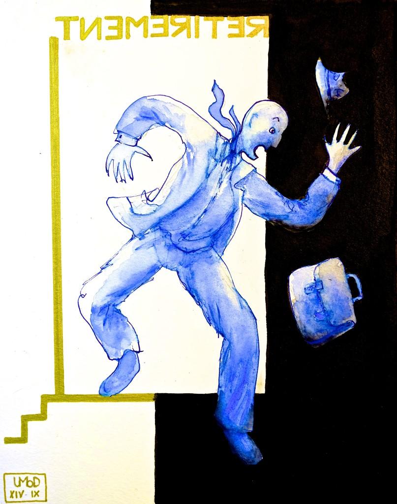 Journal article illustration by Ulli Modro
