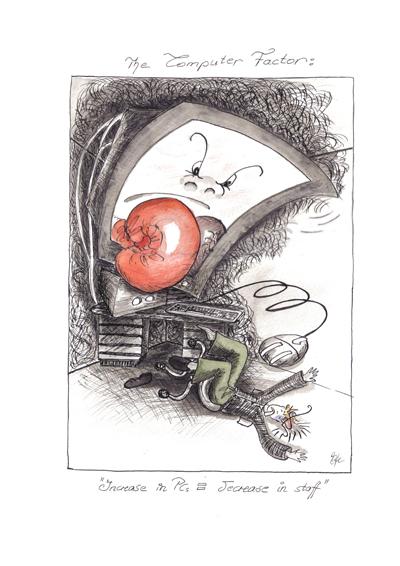 ECHO article illustration by Ulli Modro