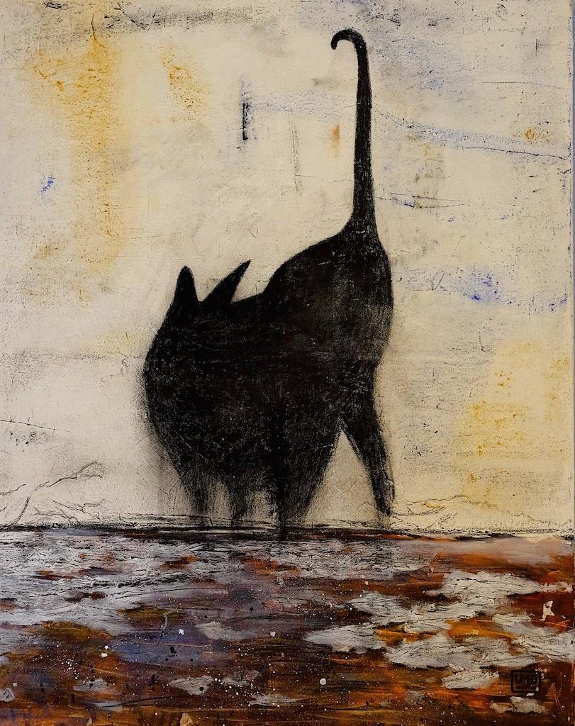 Graffitti Katze