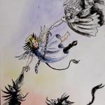 Buch Illustration von Ulli Modro