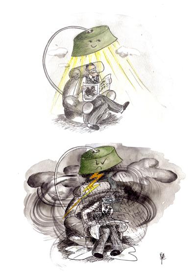 Graphik Illustration von Ulli Modro