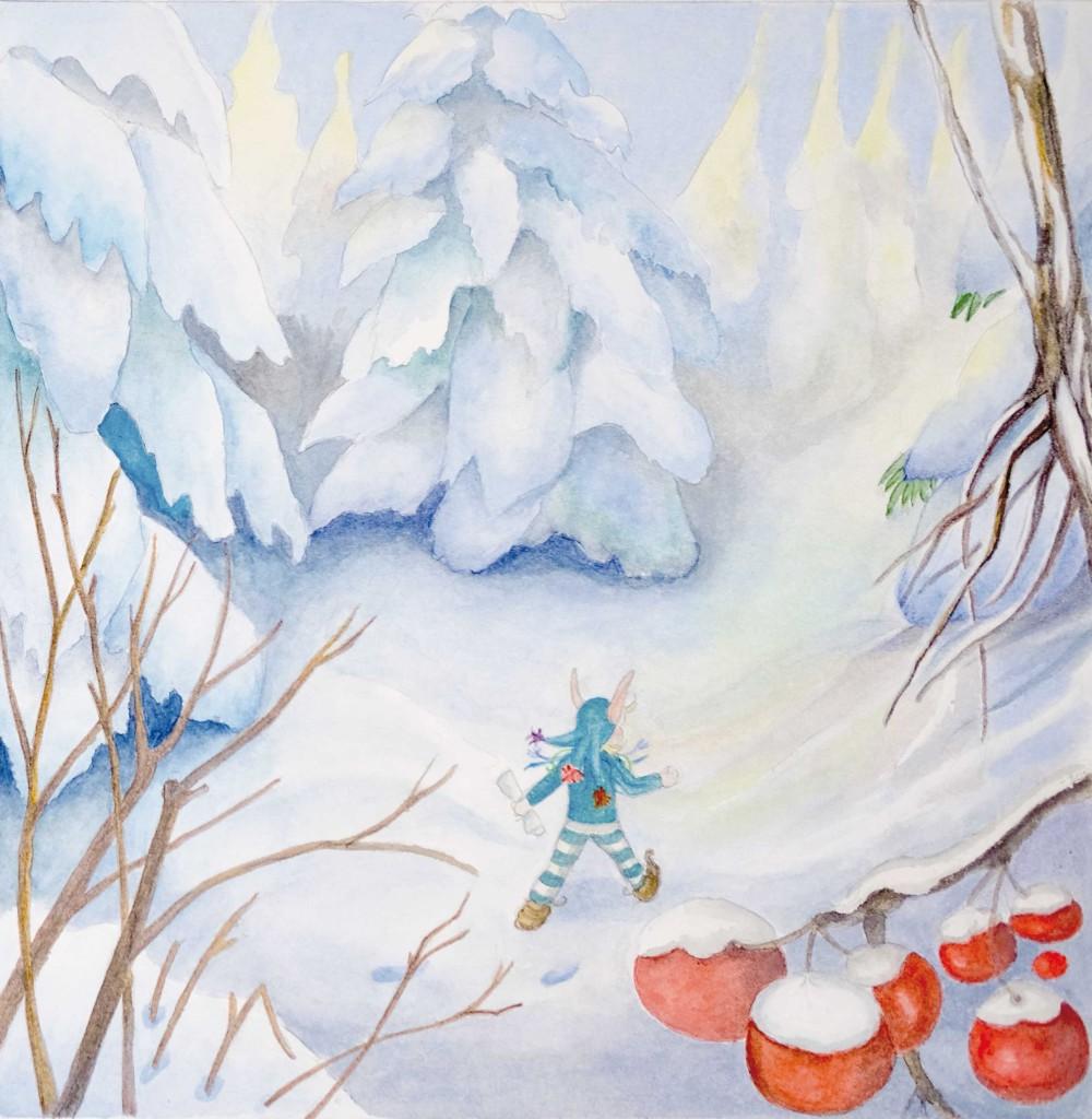 Aquarell Illustration von Ulli Modro